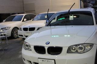 BMW車検の入庫ピーク!
